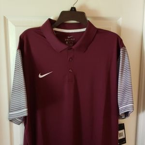 NWT - NIKE DriFit Golf Polo....SHARP !!